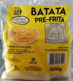 Batata Pré-Frita 500g