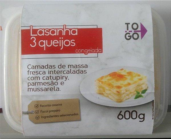 Lasanha 3 Queijos 600g