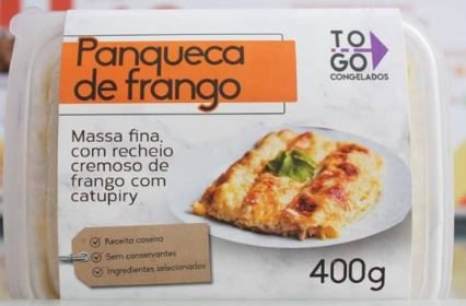 Panqueca de Frango com Catupiry 400g