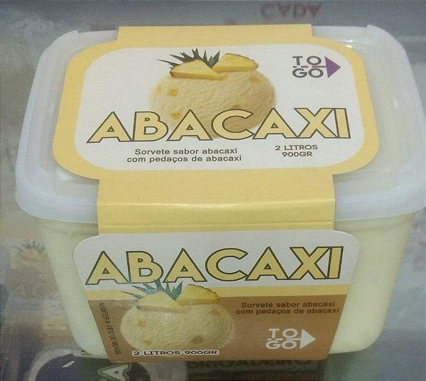 Sorvete Abacaxi 2 litros