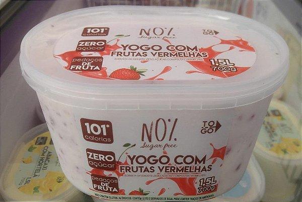 Sorvete Zero Açúcar Yogo com Frutas Vermelhas 1,5 litros