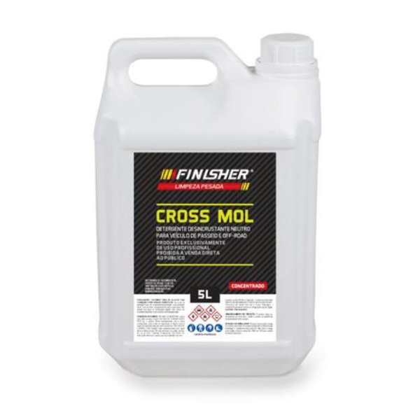 Detergente Neutro Cross Mol FINISHER 5 litros (Off Road)