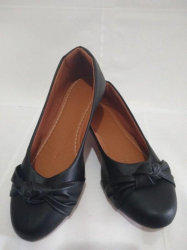 Sapatilha preta  super confortável linda para seus pés.