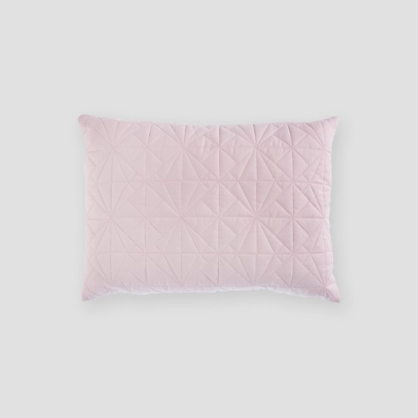 Almofada matelassê rosa