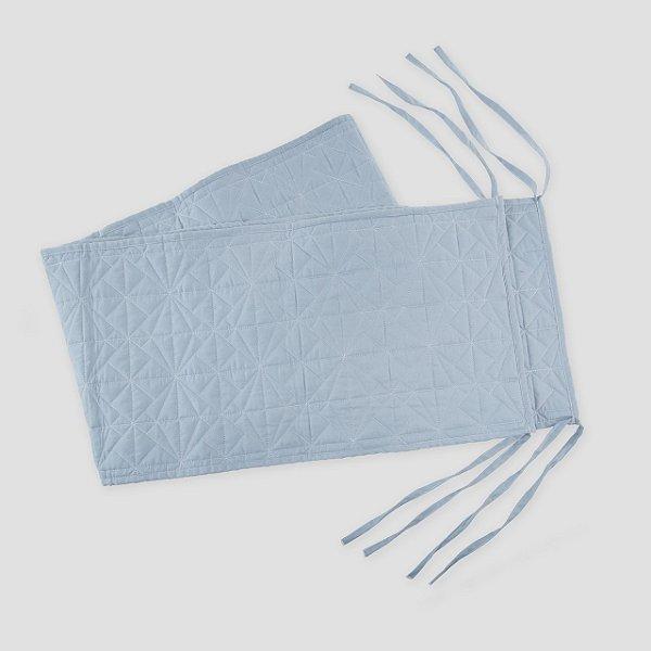 Protetor de berço Matelassê Azul