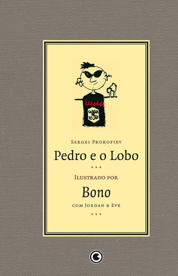 Pedro e o Lobo - Prokofiev - Ilustrações Bono (u2)