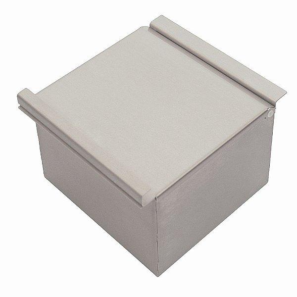 Porta esponja com tampa 150 mm prof. 100 mm