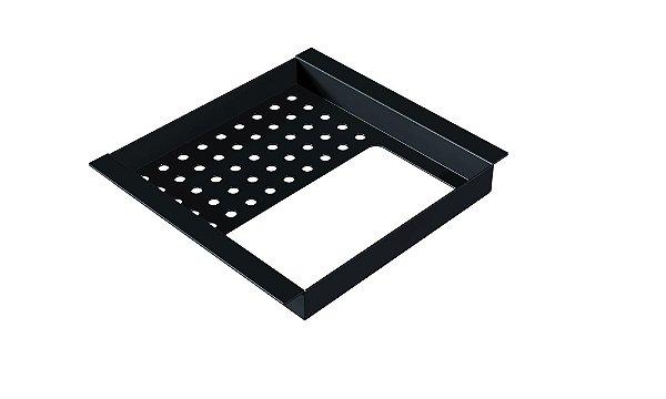 Porta esponja e detergente simples 150 mm BLACK