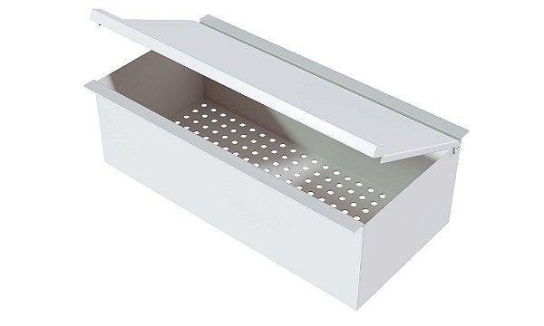 Porta esponja com tampa 300 mm WHITE