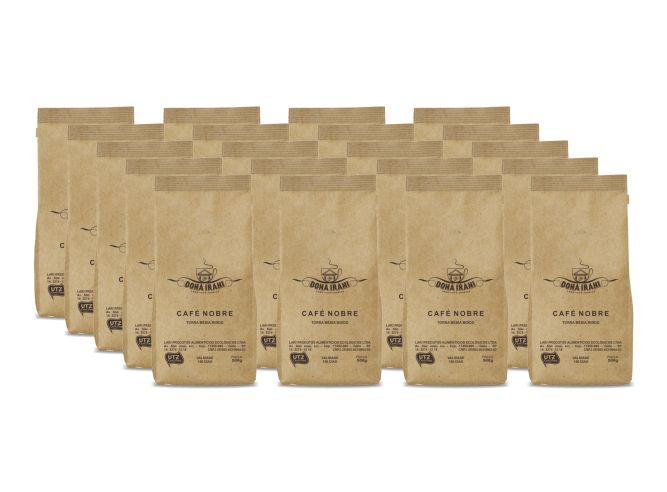 Promoção 10 kgs - Café Dona Irani Nobre torrado e moído 500g - Gourmet