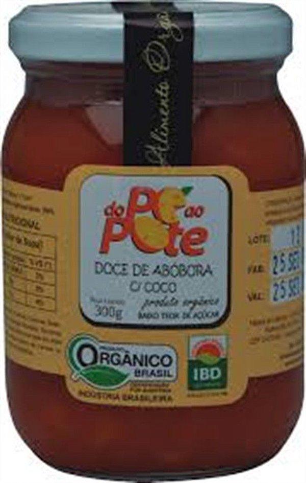 Doce de Abobora com Coco Organica 300 GR