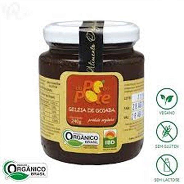Geleia de Goiaba Organica Dope ao Pote 240 GR