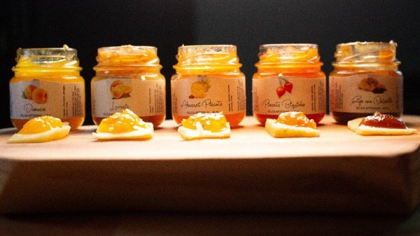 Geleia de Frutas Amarelas Artesanal Deli Chat 40 ml