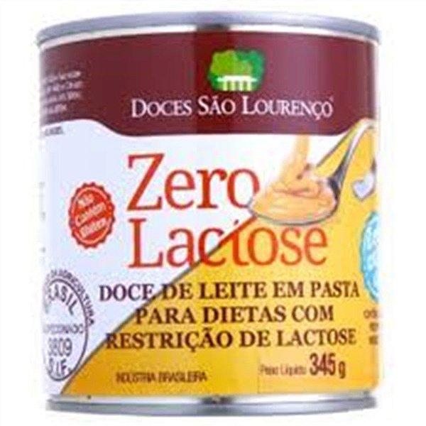 Doce de Leite sem Lactose São Lourenço 345 gr