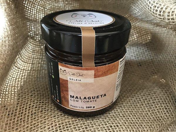Geleia Artesanal de Pimenta Malagueta Deli Chat 260 gr