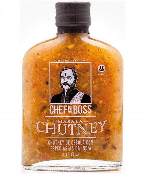 Molho Masala Chutney CHEFnBOSS 160 ml