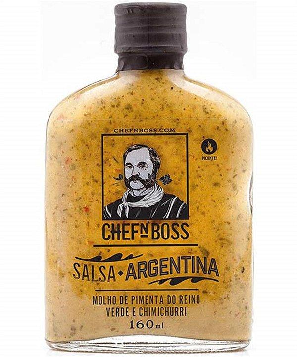 Molho Salsa Argentina CHEFnBOSS 160 ml