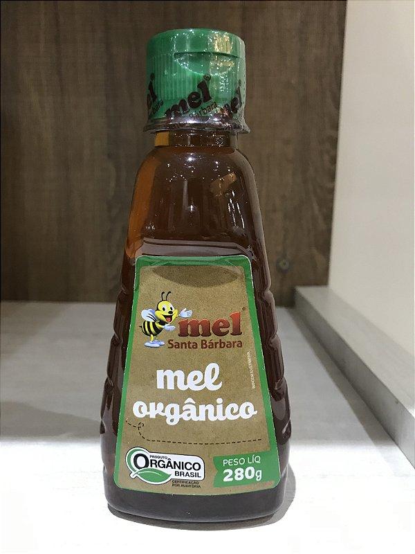 Mel orgânico bisnaga 280 g
