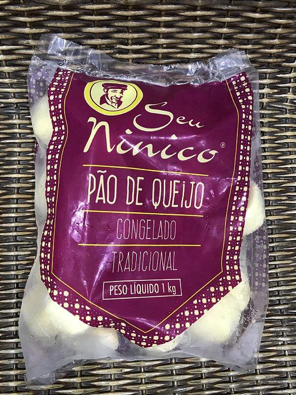 Pão de Queijo Congelado Tradicional (Somente loja física)