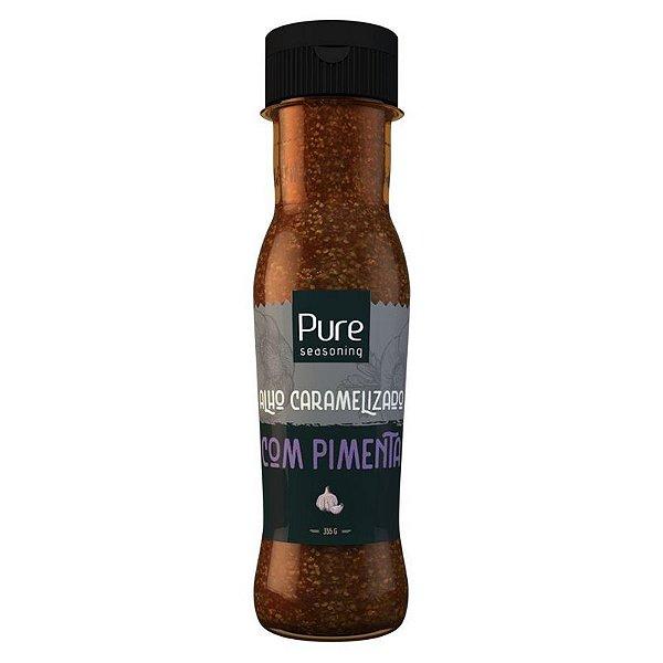 Molho agridoce de alho caramelizado com pimenta 355 gr