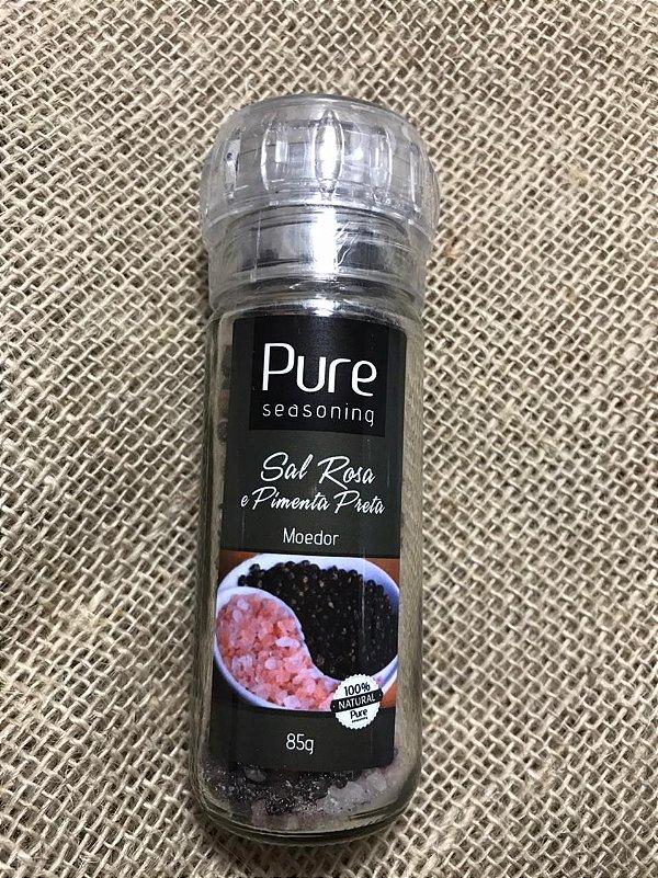 Sal Rosa com Pimenta Preta 85 g (Moedor)