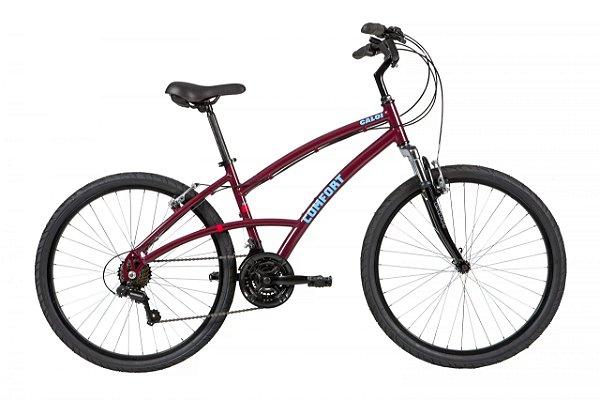 Bicicleta Aro 26 - Feminina - Caloi 400 2021 - Vinho