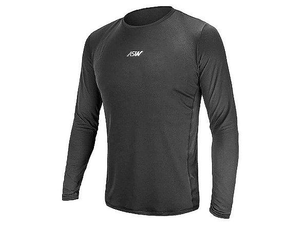 Camisa de Ciclismo ASW Essentials 2° Pele Manga Longa