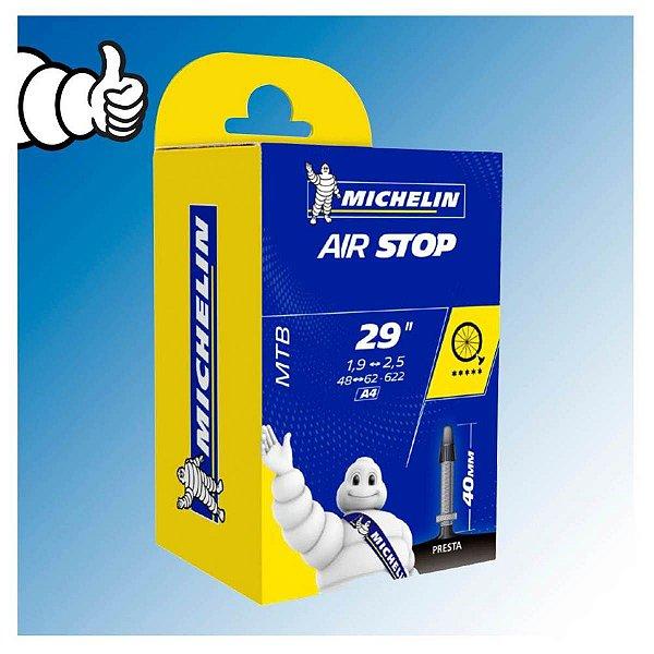 Câmara 29x1.9~2.5 Michelin FR FV Presta 40mm