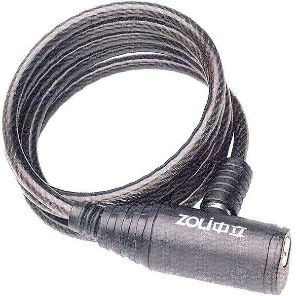 Cadeado Zoli Espiral com chave 1.5 m x 12mm