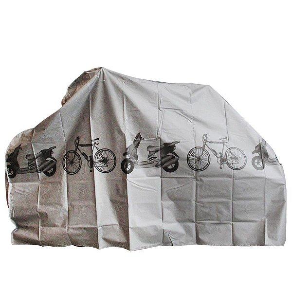Capa para Bicicleta HB-E-003 Cinza
