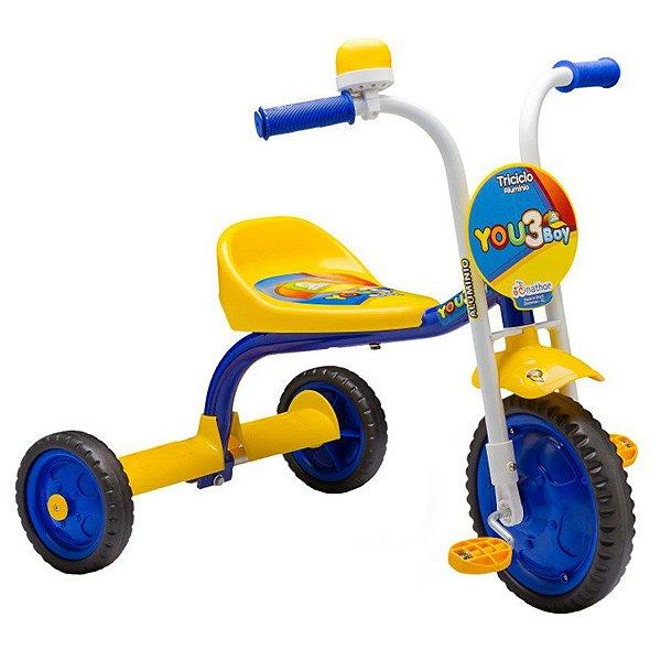 Triciclo Nathor 3 Boy Amarelo
