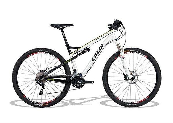 Bicicleta Caloi Elite FS Aro 29