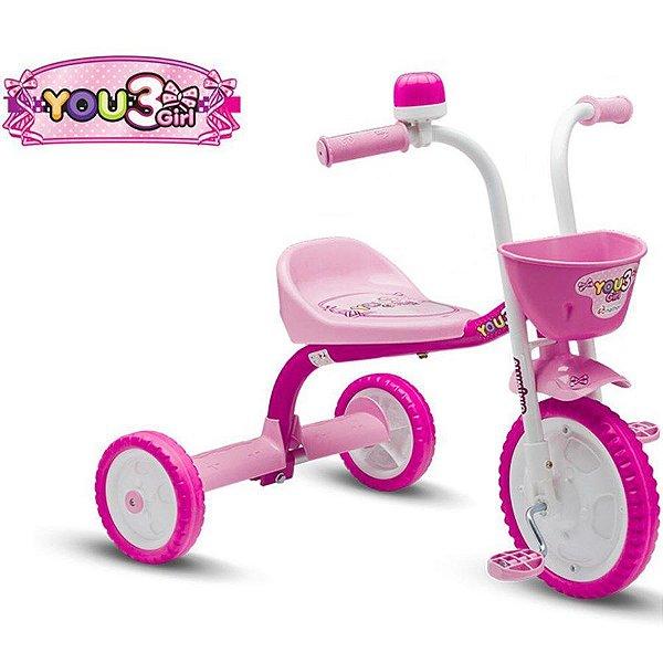 Triciclo Nathor You 3 Girl Infantil