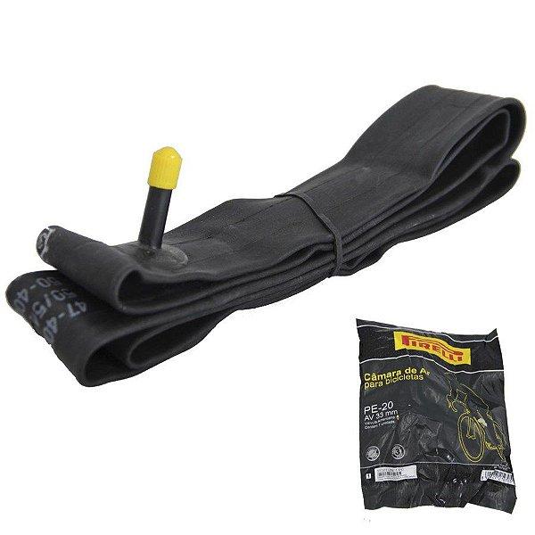 Câmara de ar Pirelli PE-20 Bico Grosso A/V