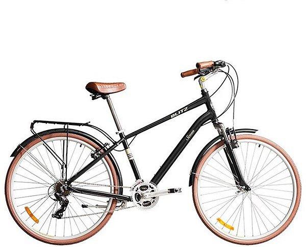 Bicicleta Blitz Seven Confort Aro 700c Preta