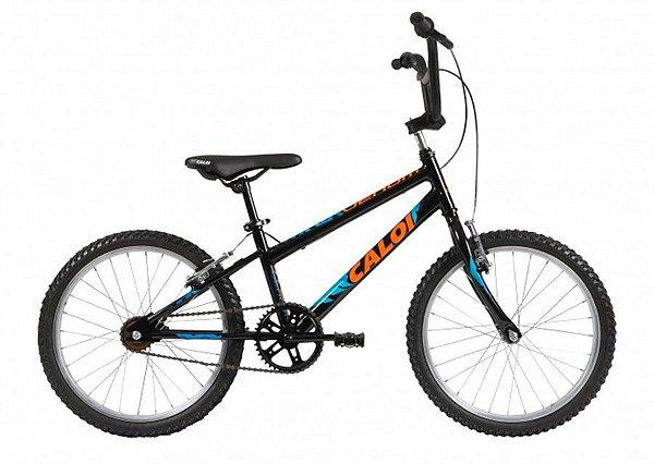Bicicleta Aro 20 Masculina - Caloi Venom - Aço -  Preta