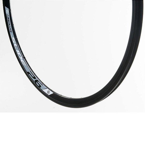 Aro 26 - 36 Furos - Absolute Slide P/ Disco - Folha Dupla - Alumínio - Preto
