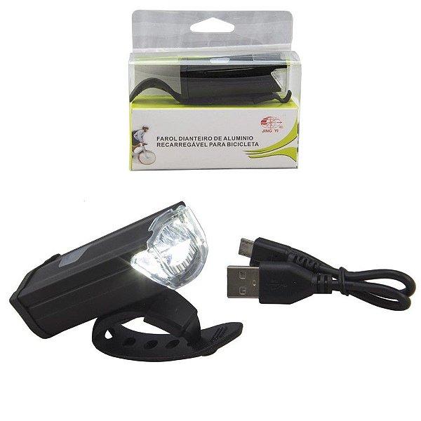 Farol JY-7040 Led 3W 300 Lumens USB