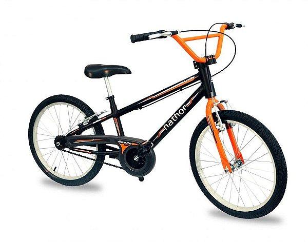 Bicicleta Nathor Apollo Aro 20 Preta