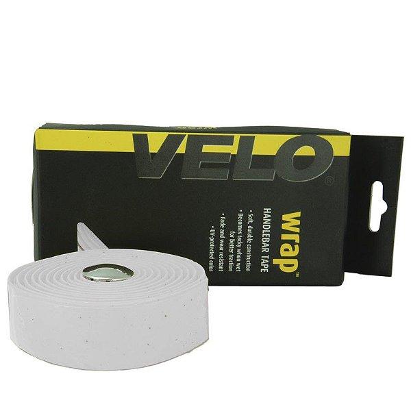 Fita de Guidão Velo VLT-001SG EVA Branco com Gel