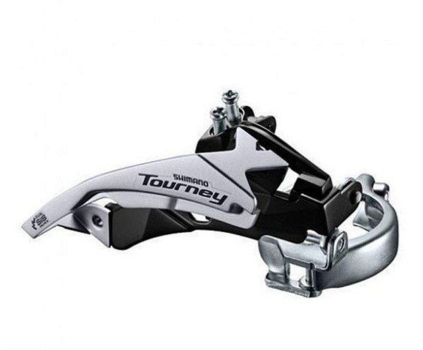 Câmbio Dianteiro Shimano TY510 48 Dentes Dual Pull