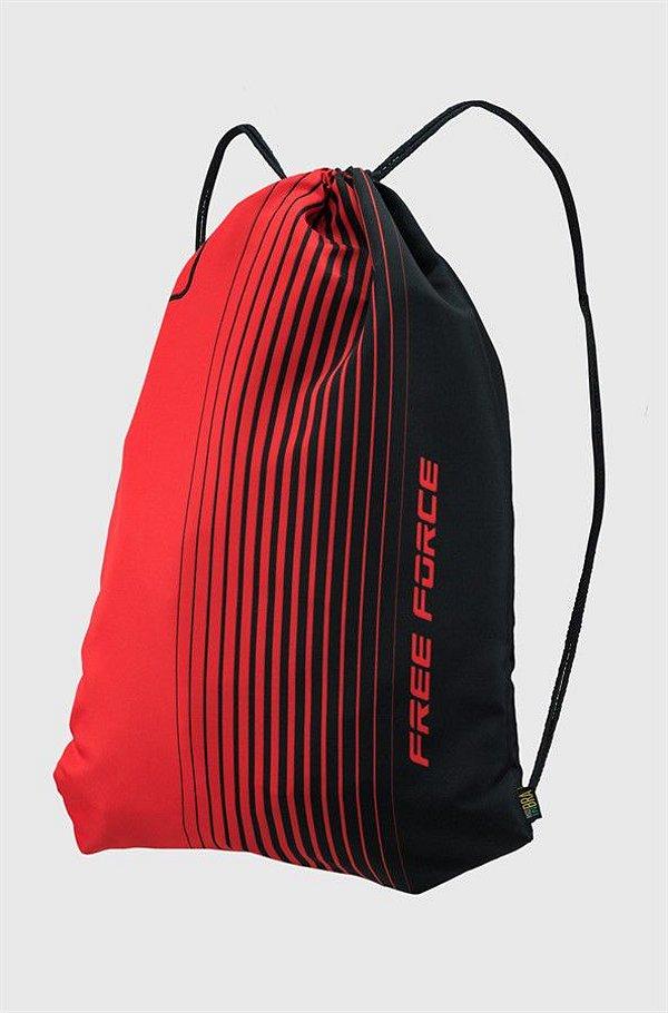 Mochila Free Force Multibag Flick Preta e Vermelha