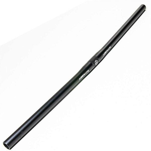 Guidão Absolute Reto XL-391 MTB 25.4x680mm Alumínio Preto