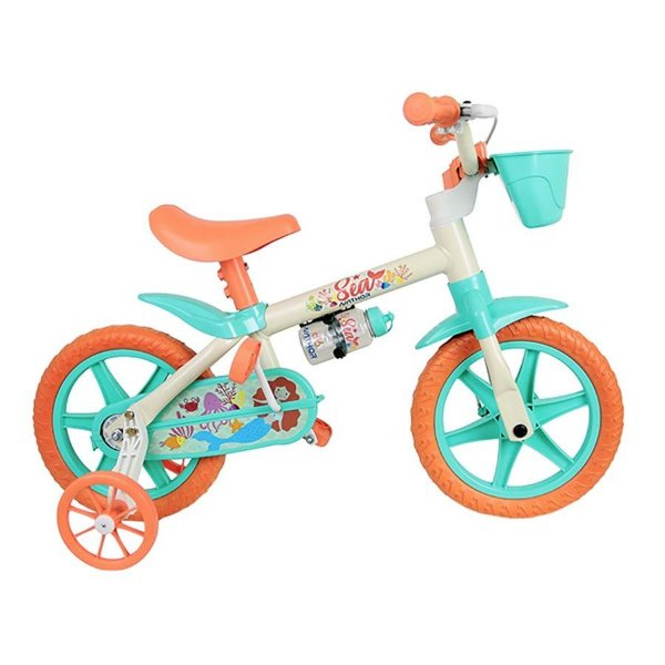 Bicicleta Infantil Nathor Sea Aro 12 2020