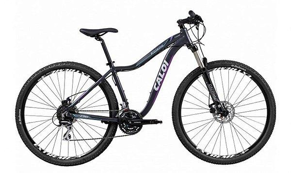 Bicicleta MTB Caloi Kaiena Comp aro 29 Preto 2018