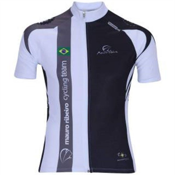 Camisa Mauro Ribeiro Cycling Team Masculina Manga Curta