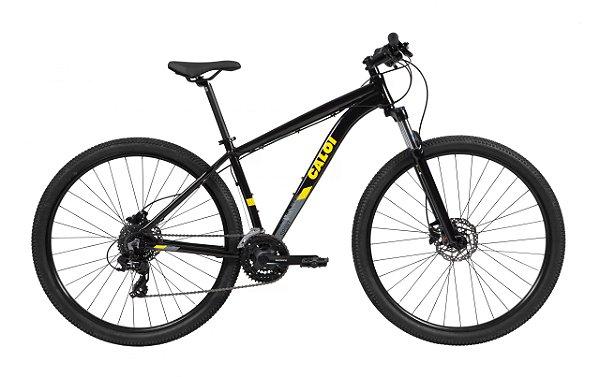 Bicicleta Aro 29 MTB - Caloi Explorer Sport - Tourney 3x7 - Alumínio - Cores