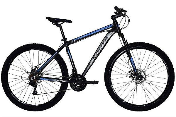 Bicicleta MTB South New Aro 29 21V Hidráulica