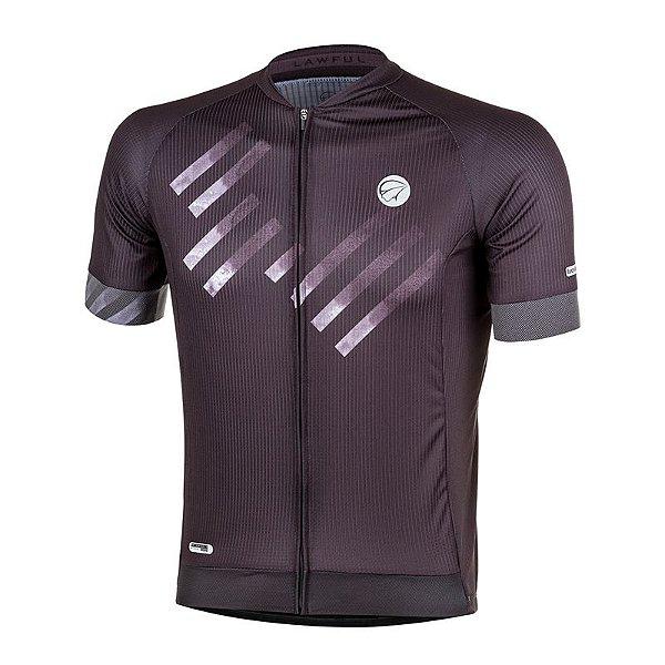 Camisa de Ciclismo - Mauro Ribeiro - Lawful - Cinza - Masculina