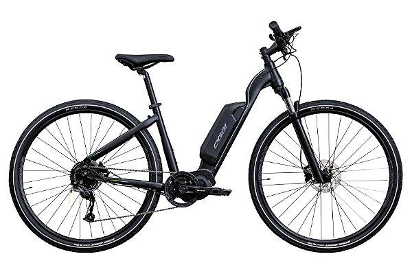 Bicicleta Elétrica Aro 700 - Oggi Flex - Shimano Altus 9v - Rock Shox 30 - Alumínio - Cores